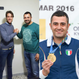 Alessandro Chianese - Campione del Mondo - Double Trap